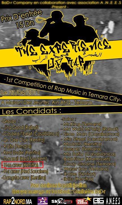 HM-Crew Sur la Compétition ( The ExpérienCe Of R.A.P )