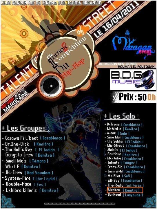 """MéDYOU Sur La Compétition Du Hip-Hop"""" TALENT OF STREET"""""""