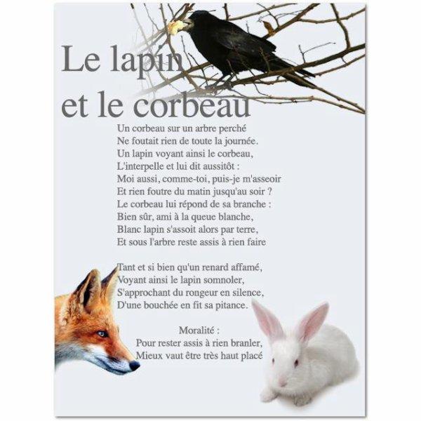 Fable de La Fontaine revisiter ...