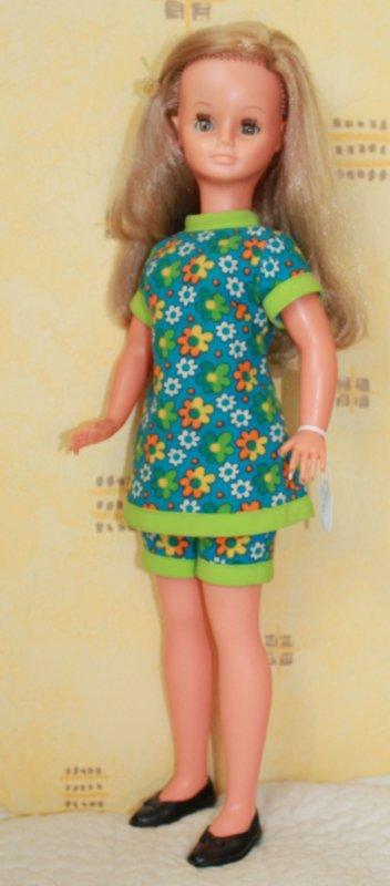 Cathie en tenue  1970