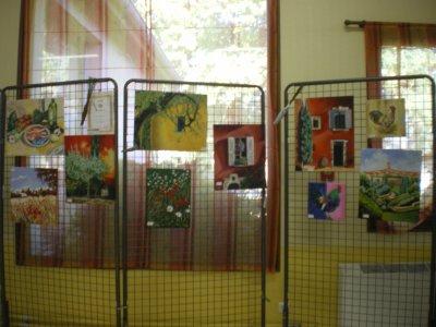 exposition de peintures à Courcelles sur Nied