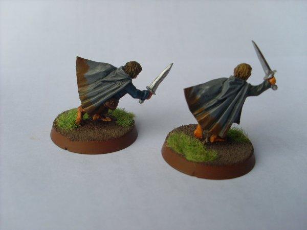Meriadoc Brandebouc & Peregrin Touque