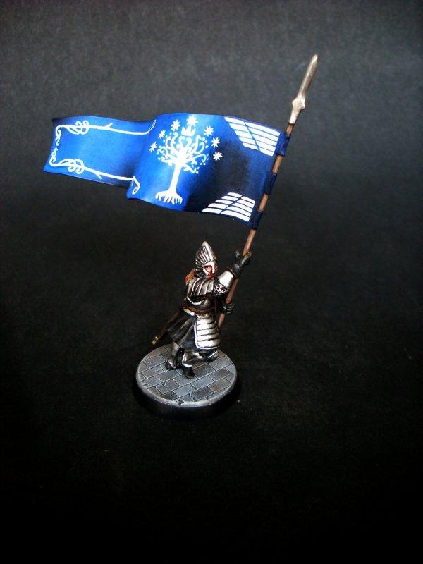 Grande bannière de Minas Tirith - Partie 2