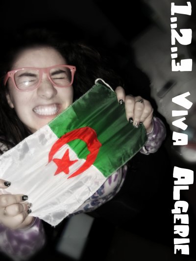 ALGERIE FOR LIFEE BITCHES :)