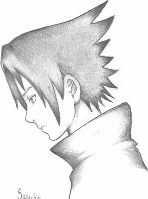 Dessin De Sasuke Blog De Dessin Naruto Onepiece