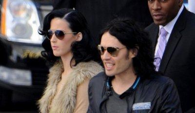 Katy Perry au cinéma avec Russel Brand ?
