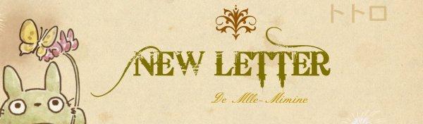 (◑ω◐) Ma New-Letter(◑ω◐)