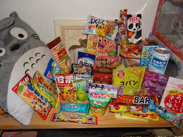 Nouvelle catégorie d'articles ! Nourriture japonaise de chez Candysan :)