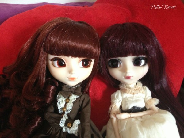 Mes deux premières Pullips ♥