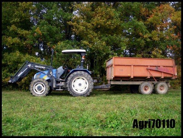 Récolte du maïs grain 2011