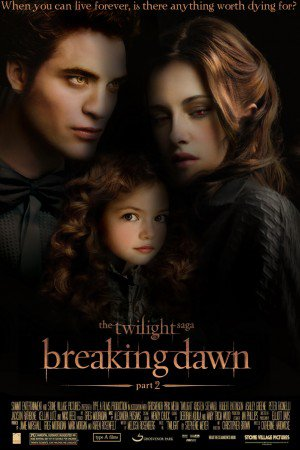 Nouvelle affiche de Breaking Dawn