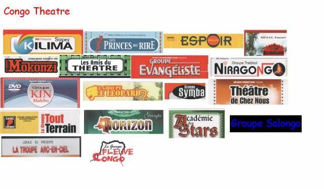 100% Theatre,Serie et Cinéma congolais