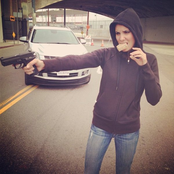 Image du tournage de NCIS: Los Angeles