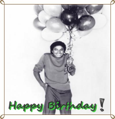 Joyeux Anniversaire MJ !
