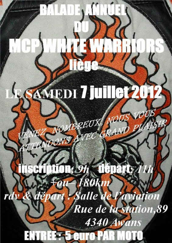 BALADE  MCP White Warriors