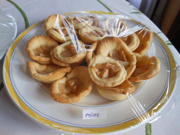 Tartelettes aux pommes et poires