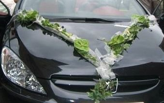 voiture de mariée