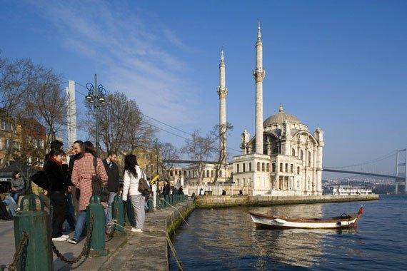 la cathédrale ste sophie a ISTAMBUL