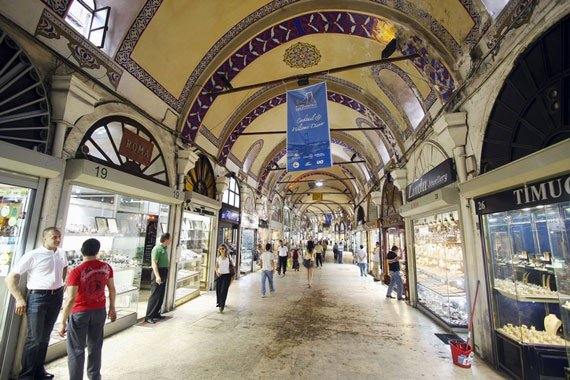 le grand bazar a ISTAMBUL