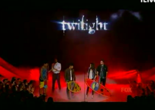 Teen Choice: Twilight Cast !