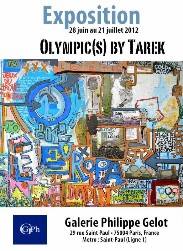"""Exposition """"Olympic(s)"""" de Tarek"""