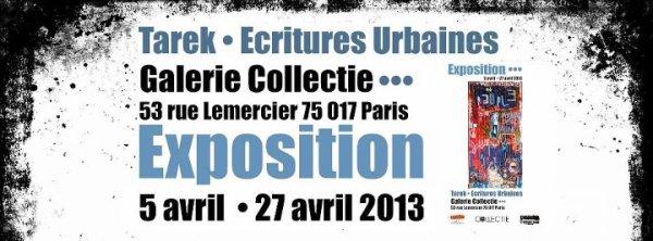 Exposition // Tarek, écritures urbaines //
