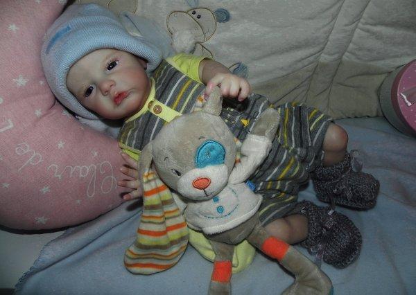atticus rebaptisé Baptiste et Isaac rebaptisé Morgan merci a sa maman