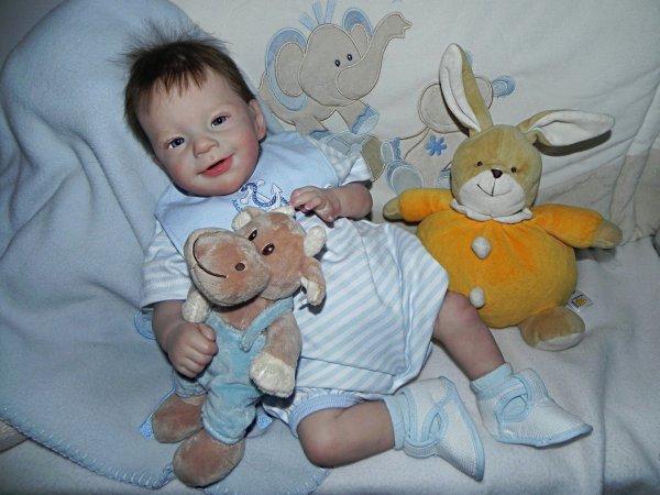 Sunny bébé d'Amour,baptisé Bastien merci a Nicole sa maman