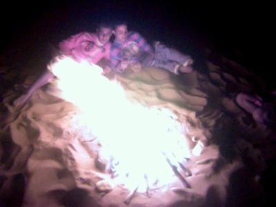les vacance (camping sauvage)