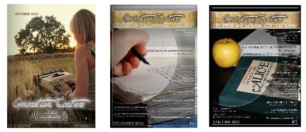 ~ Le Webzine de Génération Ecriture ~