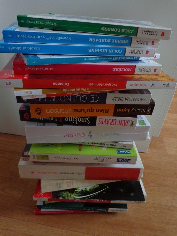 Collecte de livres !
