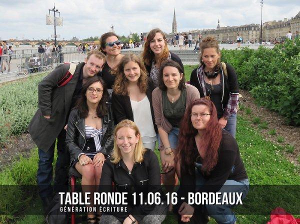 Compte-rendu Table Ronde Bordeaux 11 juin 2016