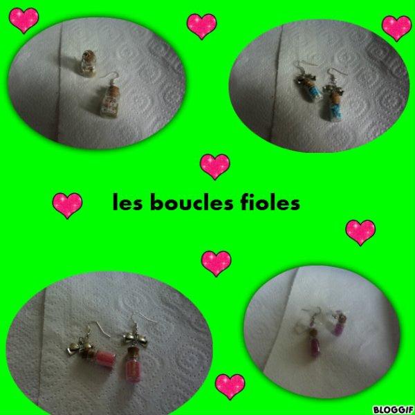 boucle fioles