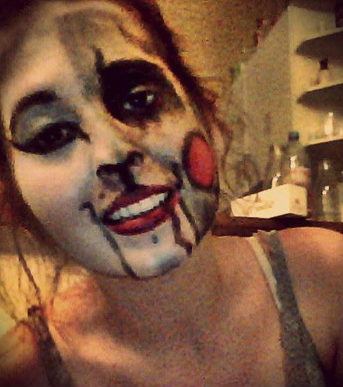 Petit maquillagep our halloween #