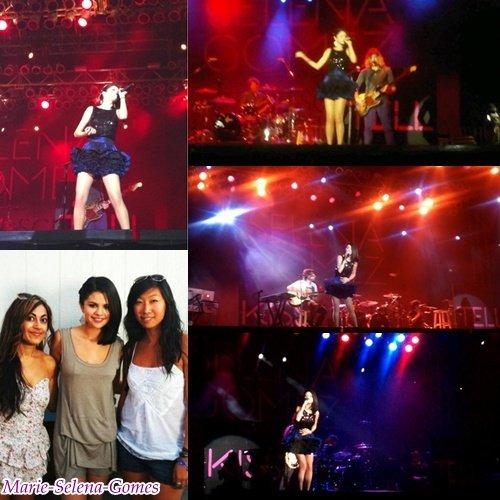 . 18 septembre:Selena etait en concert a LA state fair a Pomona .