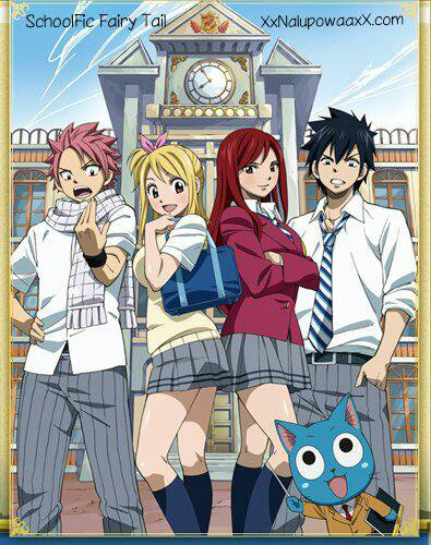 FIC 1 : Chap. 1 -Fairy Tail- ( + explications )