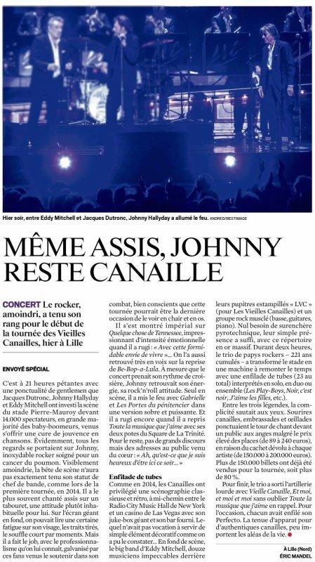 MÊME ASSIS, JOHNNY RESTE CANAILLE