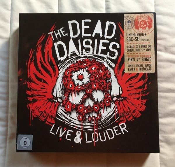 "THE DEAD DAISIES "" LIVE & LOUDER "" LIMITED ÉDITION BOX SET"