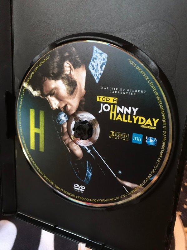 TOP A JOHNNY HALLYDAY JUIN 1974