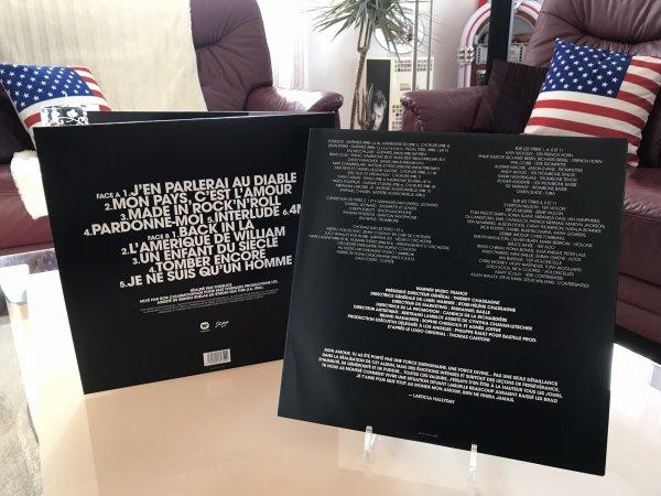 VINYLE & CD COLLECTOR «MON PAYS C'EST L'AMOUR»