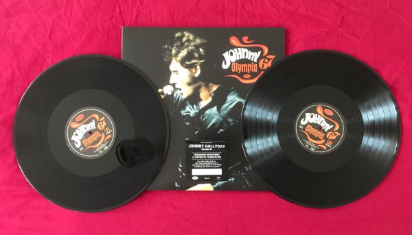 Johnny Hallyday, Double LP Universal     « OLYMPIA 67 »