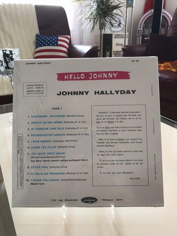 Hello Johnny, Picture rose pour le Disquaire Day 2019