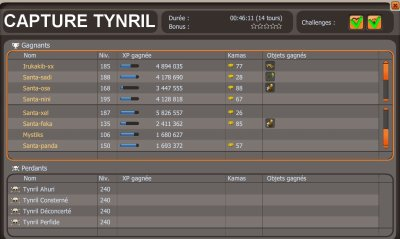 Donjon Tynril + capture.