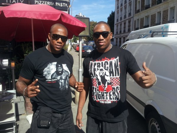 AFRICAN FIGHTERS NOUVELLE MARQUE!!!