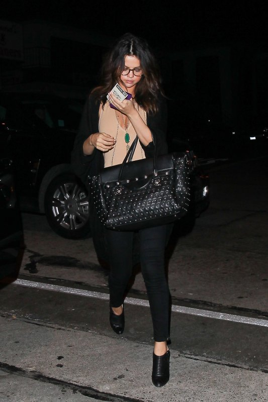 Le soir du 23/01/14 notre sublime Selena est allé au Craig's restaurant a West hollywood , CA