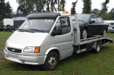 Ford Transit Camion plateau
