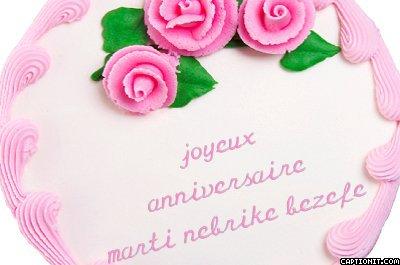 Joyeux Anniversaire Namour J Aime Ma Maman Et Mon Petit Chouchou