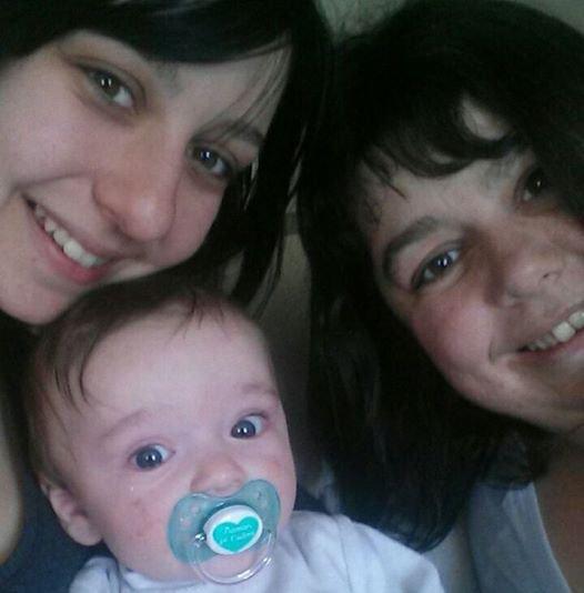 Moi, ma fille et mon petit fils