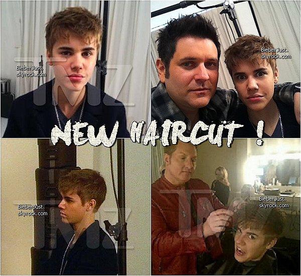 . Nouvelle coupe pour Justin ... Perso j'aime beaucoup ! Ton avis ?  .