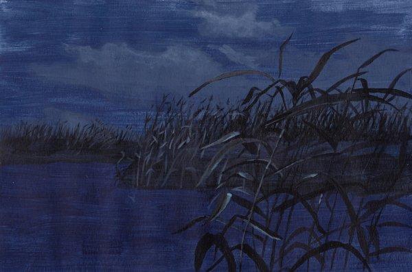 travail n°6, débuts à l'acrylique, travail à partir d'oeuvres d'artistes
